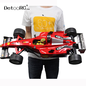 Detoo 1:6 F1 racing formula large rc truck remote control big cars