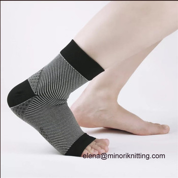 6ca09656e9 Wholesale Hot Selling Plantar Fasciitis Foot Angel Anti Fatigue Compression  Foot Sleeve socks