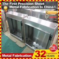 Custom waterproof electrical metal power supply box