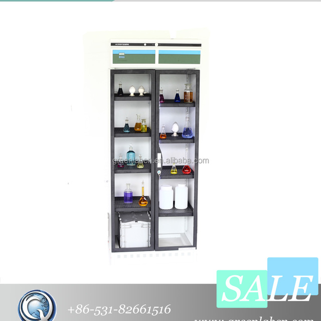 GR 500 Solvent Storage Cabinet Using Quality Filters And Durable Fans