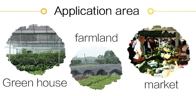 China flat wire high quality agricultural shading net