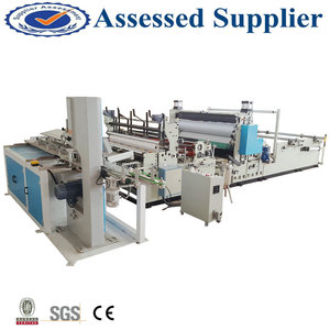 Kitchen towel/toilet paper automatic cutting machinery full line