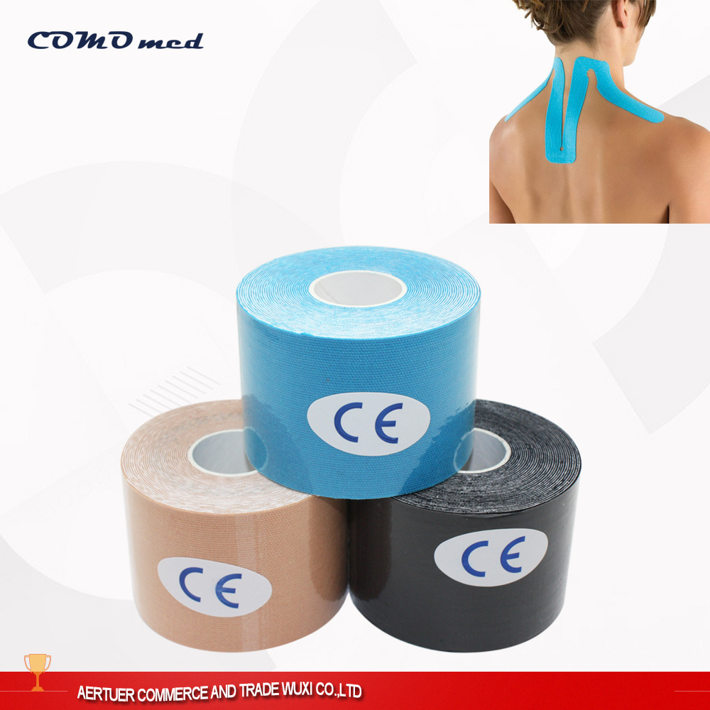Gym Sports Care Elastic Therapeutic Muscle Custom Athletic Tape