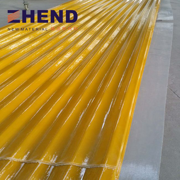 2mm long service life frp roof sheet fiberglass roofing sheets