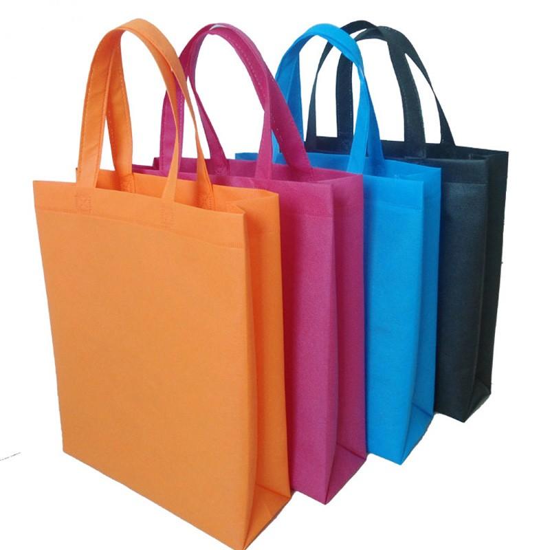 Pp fabrics spunbond nonwoven shopping bag handing bags for