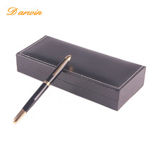 2017 new business idea gift pen set Luxury box with gift ballpoint pens for promotional