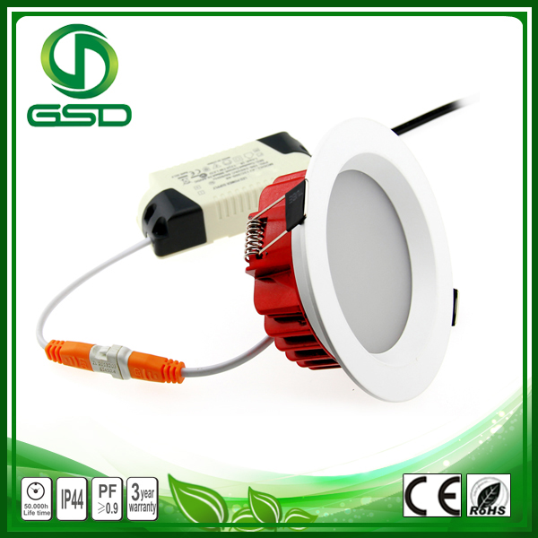 Black Housing Surface Mounted Led Downlight Square Shape 7W Led Downlight