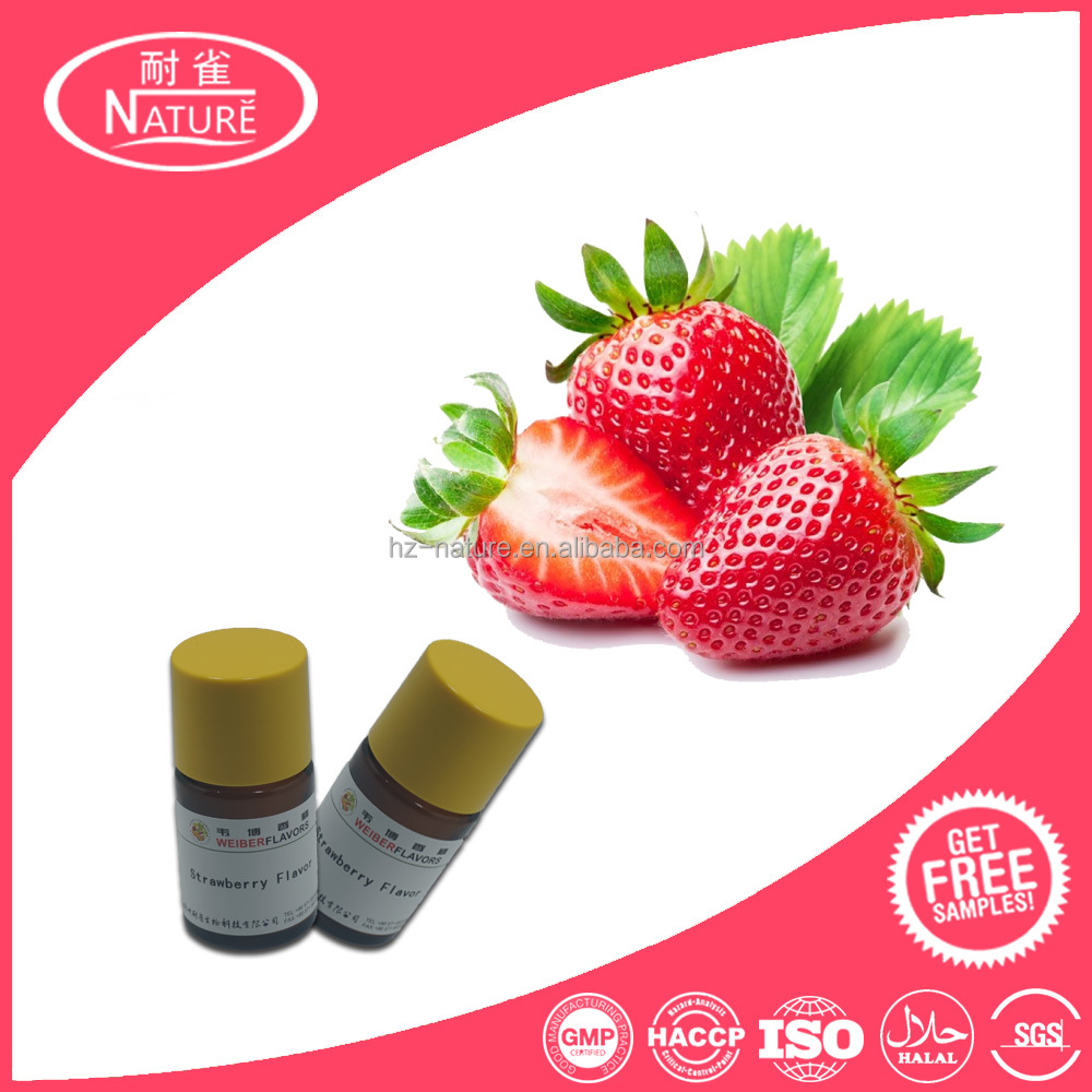 Realistic sweet ripe strawberry flavor fruit flavor flavouring concentrate