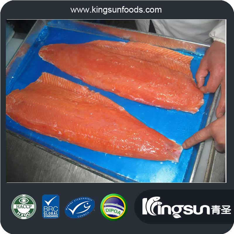 Frozen salmon filets top frozen salmon fillet with frozen for Best frozen fish to buy at grocery store