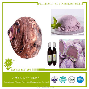 Halal Taro liquid flavor concentrate / ube flavour for ice cream,baked, beverage