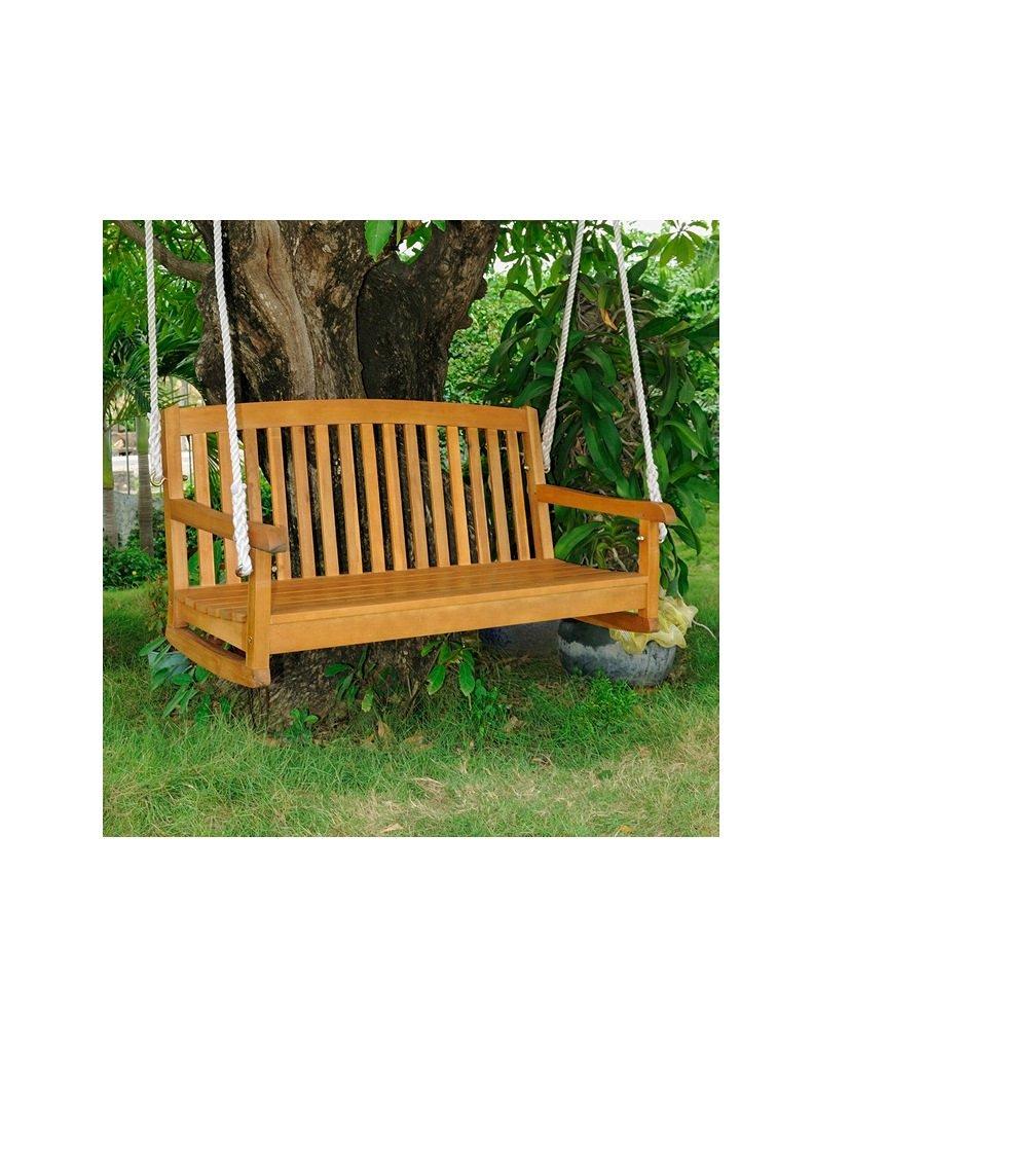 Balau Hanging 2-Seater Porch Swing (2-Seater)