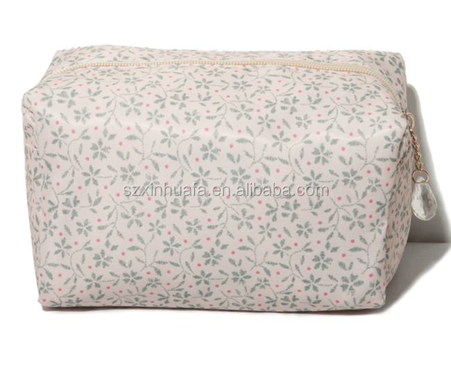 2015 Top Grade Hot Selling Fashion Satin Cosmetic Bags