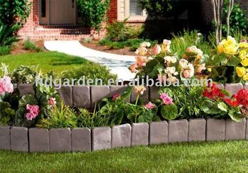 Garden Plastic Fence,Barrier,Hedge,Stone Fence Fence Panel