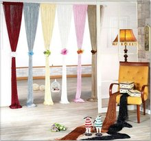 Opening ceremony curtais and drapes tassel string curtains