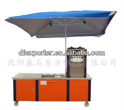 Electric Refrigeration car/ice cream cart/
