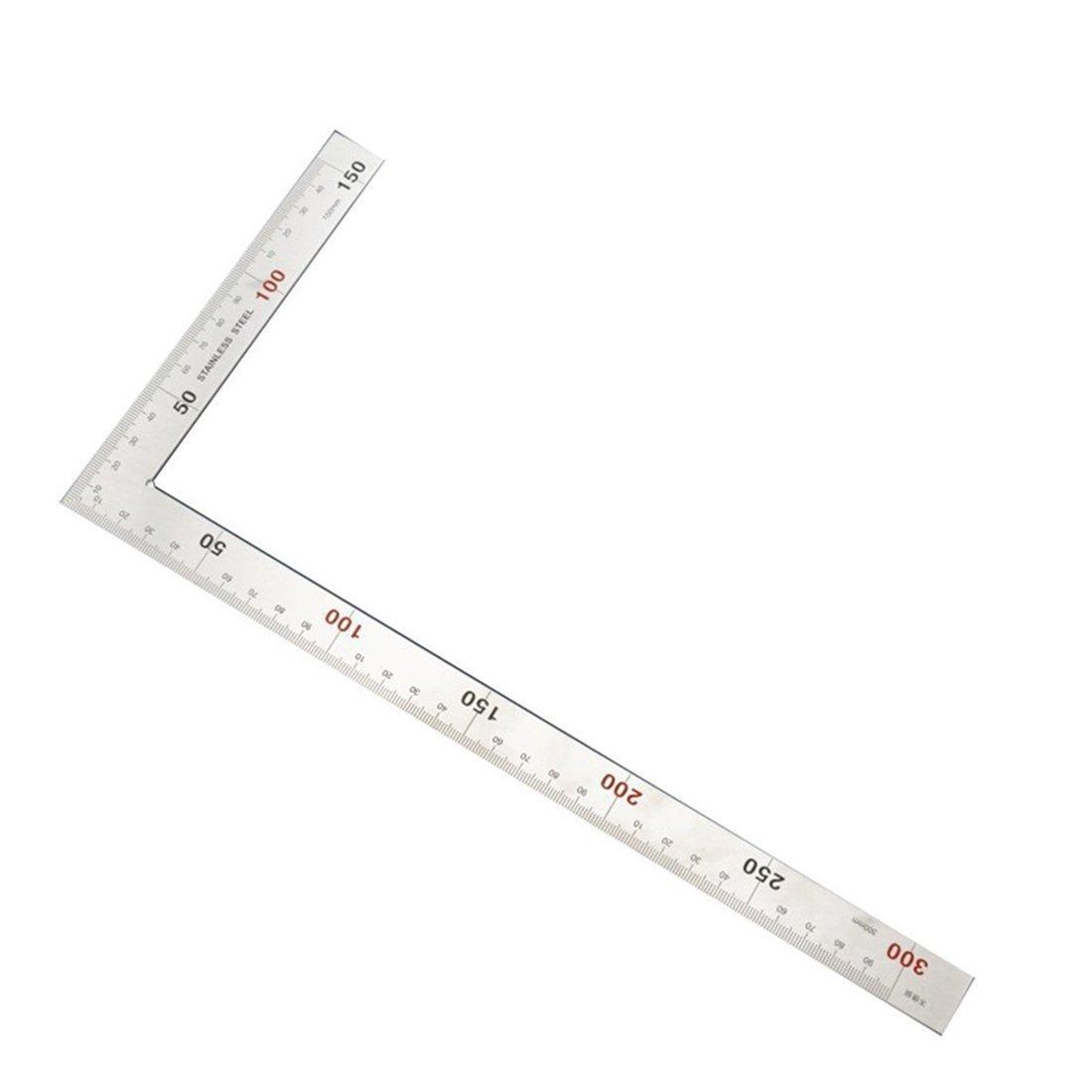 TOOGOO 400mm 2 in1 Digital Angle Finder Meter Protractor Goniometer Ruler 360 Degree Measurer