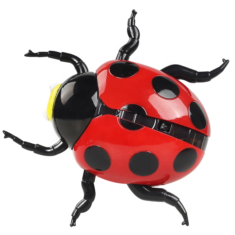 Educational simulation remote control animal ladybug <strong>toy</strong> for kids