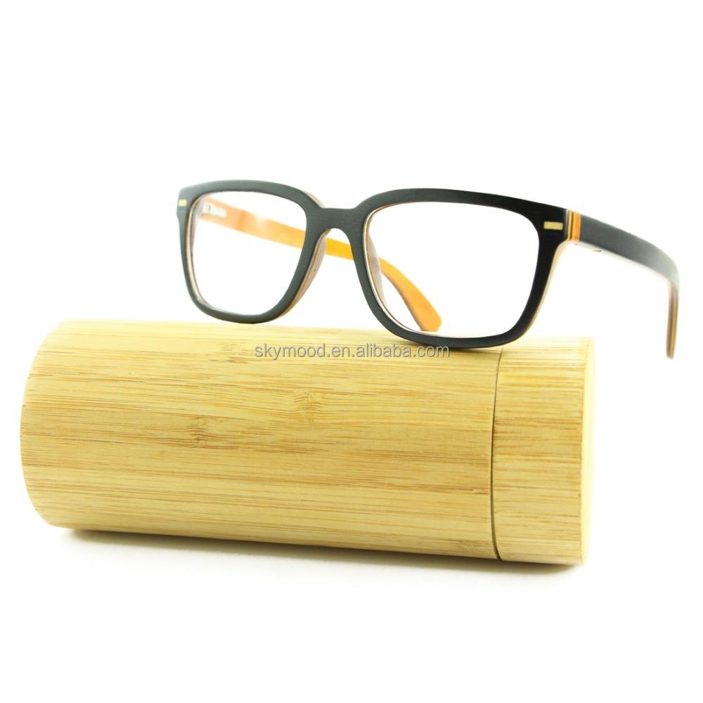 2018 New Model Eyewear Frame Glasses New Stylish China Wooden ...