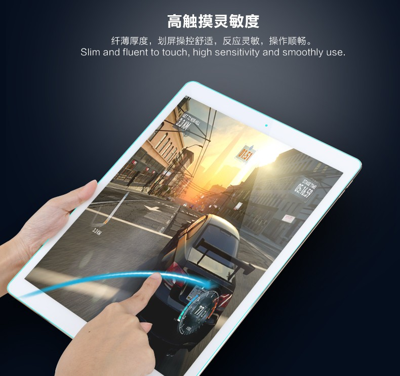 Hot Selling High quality Clear Tempered glass screen protector for <strong>iPad</strong> Pro 12.9