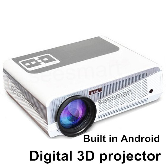 contrast ratio 4000:1 Built-in Android System Full HD Led video home projector