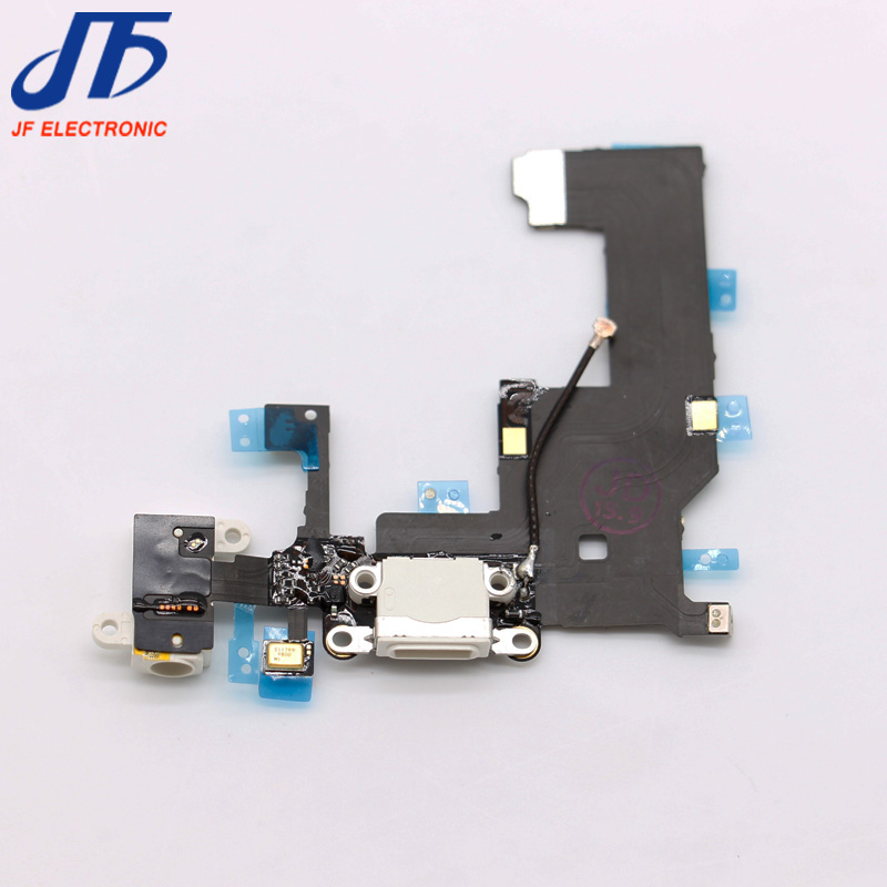 For iPhone 5 USB Charging Dock Port Connector Headphone Jack Flex Cable