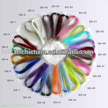 Chinese crystal flash fly tying material wholesalers