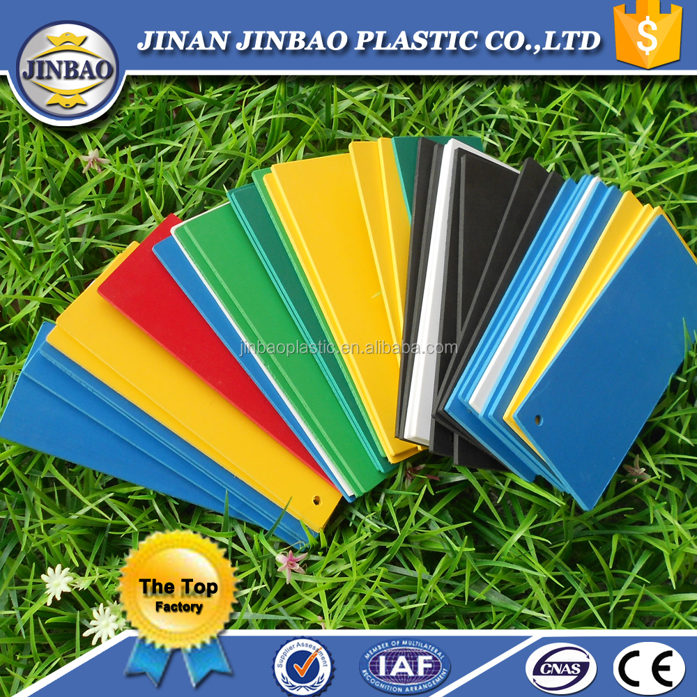 color Pvc foam board 1.22x2.44M white crust pvc foam sheet Jinbao factory
