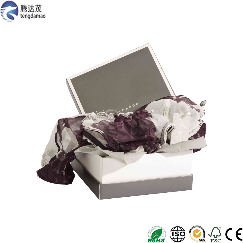 Luxury high quality custom new style lingerie papper package factory supplier