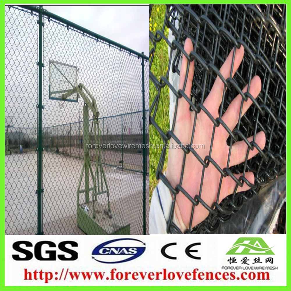 China Express Maschendrahtzaun Montage Chain Link Fencing Material