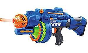 Niubai Rifle Semi-Auto Battery Operated Toy Foam Dart Gun with 20 Soft Foam Bullet
