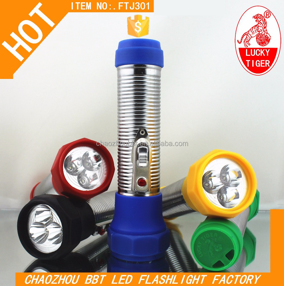 Hand Flashlight Hot Africa Plastic Torchlight