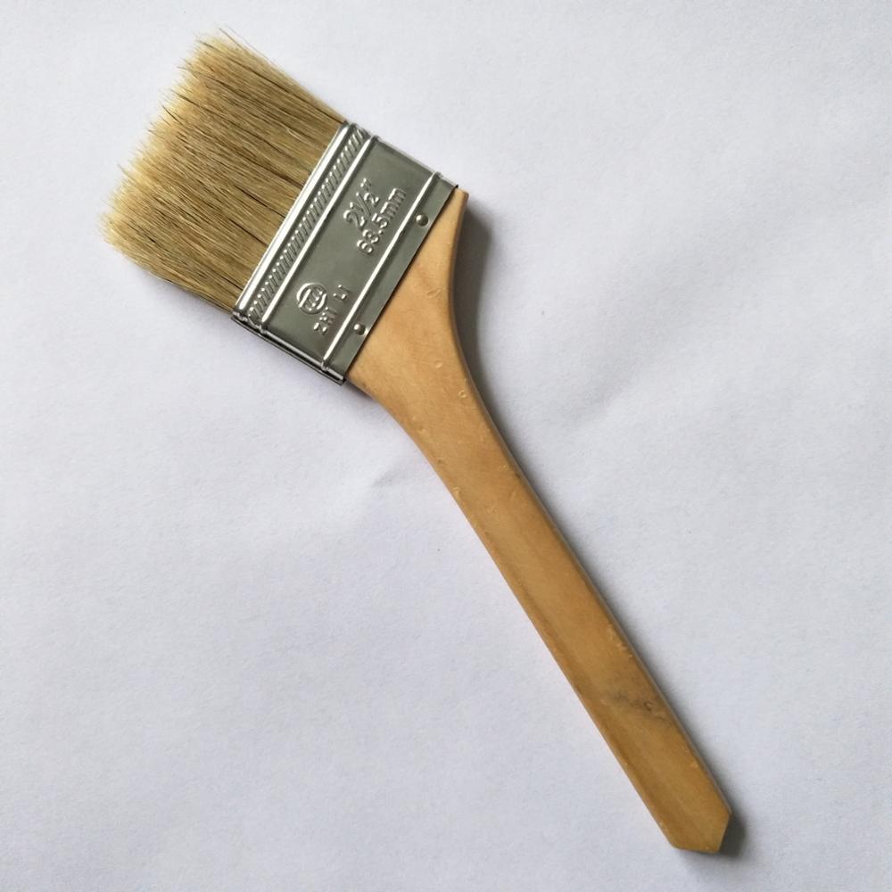 Hog Bristle Elbow Brush Head Paint