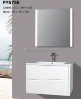 Modern design best selling bathroom vanity with LED light