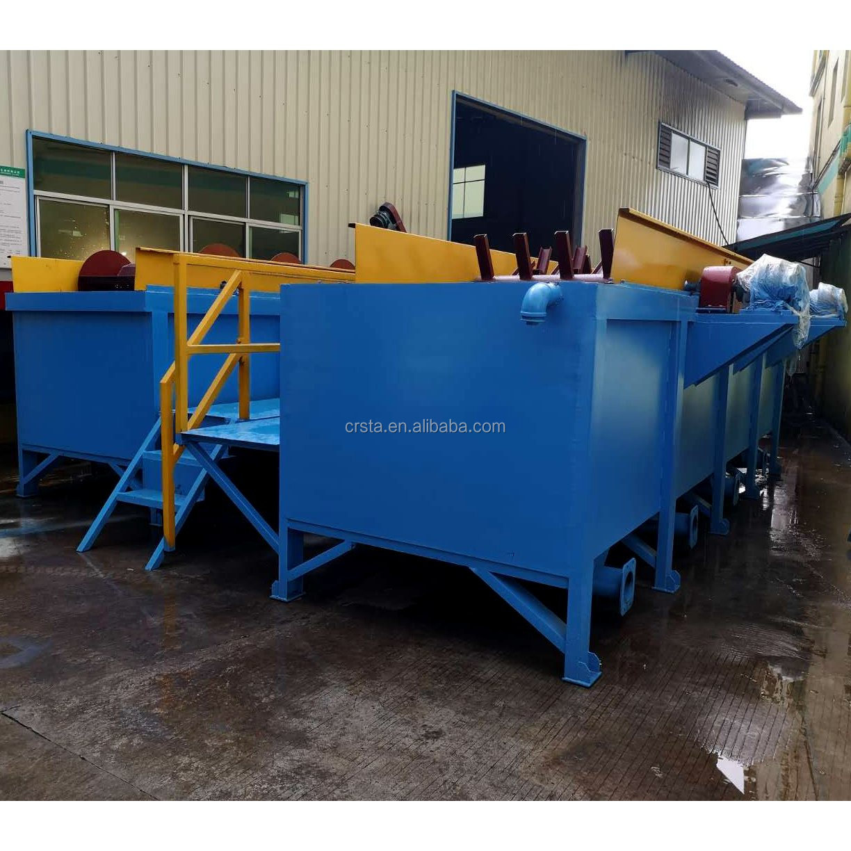 Waste Plastic PP Bags PE Film Separate Washing Tank / LDPE Film Sink Floating  Washers
