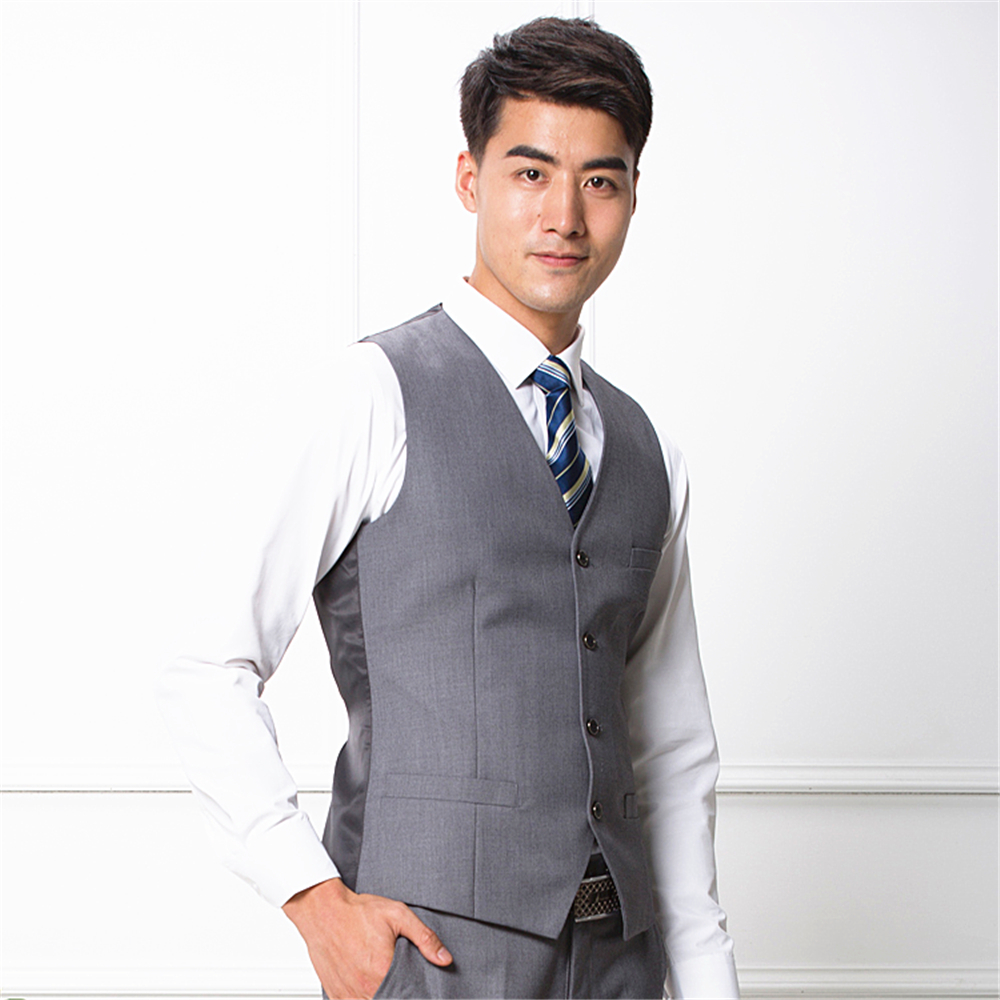 Customized High Quality Men Business Suit Waistcoats