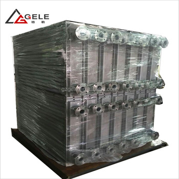 Steam Air Cooled Heat Exchanger and Heating Radiators Coils for Drying Char coal Briquettes