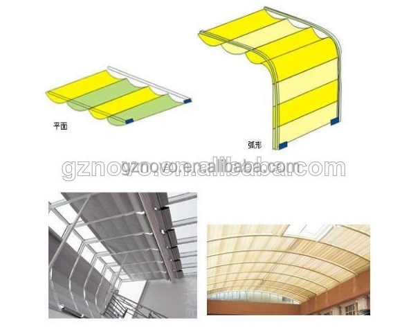 home automatic wireless Electric motorized flat roof skylight
