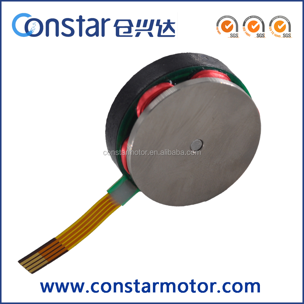 New Design 32MM 12v Slotless Brushless DC Flat Motor