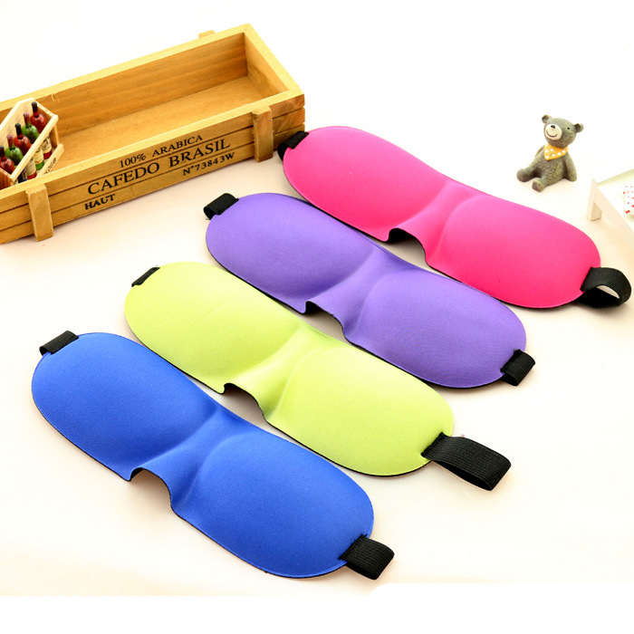 Hot selling supplier cheap health care sleep take rest blindfold 3D eye mask for plane travel