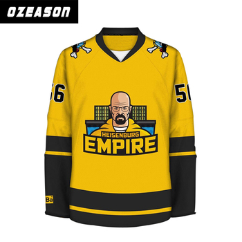 bfffa1313 Custom Made Mens Fully Sublimated Printing Funny Hockey Jersey - Buy ...