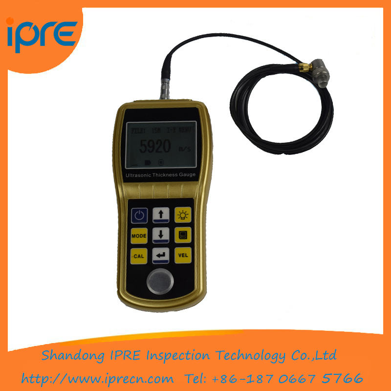 High Accuracy Hot sell ultrasonic <strong>thickness</strong> measuring instruments