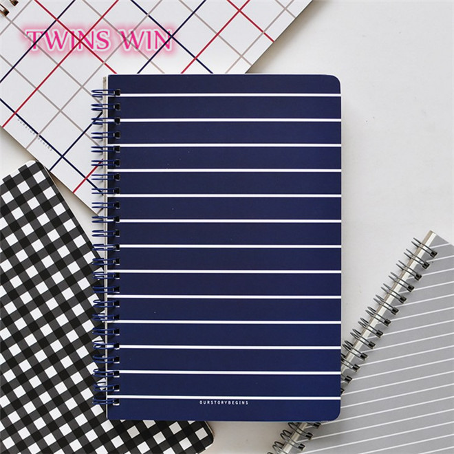 2018 hot sale korea custom office and school stationery wholesale Various style hardcover a5 paper notebook