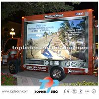advertising billboard use move/mobile truck mobile led display