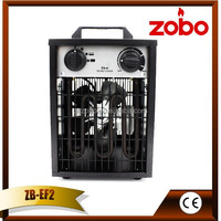 Portable 2000W Powerful Industrial electric fireplace heaters lowes