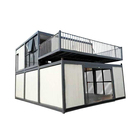 Easy installation modern prefabricated modular portable coffee bar shop mobile container house