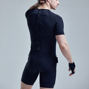 fabric wire dry sensor electrode electro stimulation suit physiotherapy