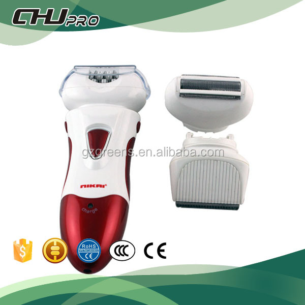 Elektrische threading facial hair remover