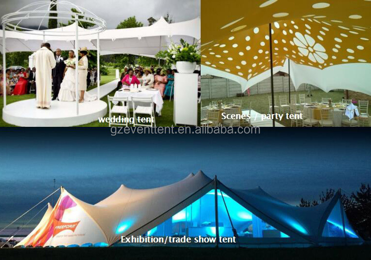 Stretch Wedding Tenda Più Economico di Nozze Tenda Esterna