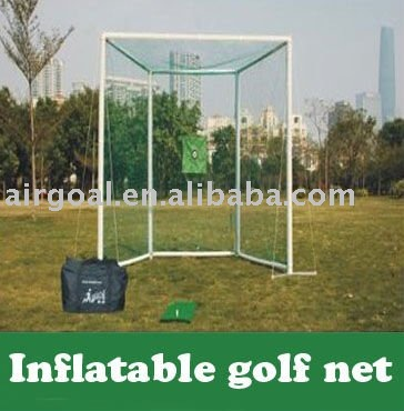 Remote Control Golf Cart(Club-Use Lightweight & Portable Golf Practice Net)