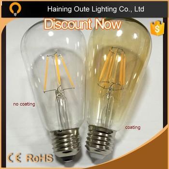 2700k Temperature Vintage Filament Led Bulbs,Led Filament Bulb ...